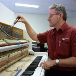 gary tuning a piano
