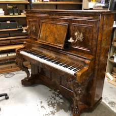Julius Feurich finished and available for inspection at Piano Magic